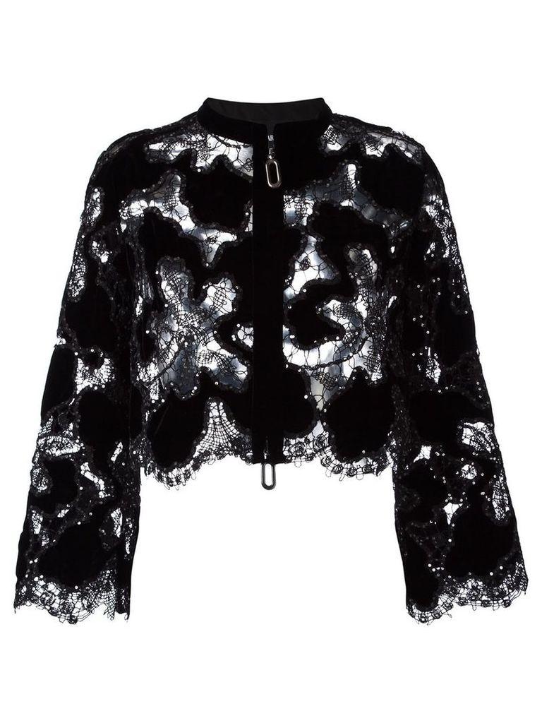 Giorgio Armani 'Fantasia' jacket - Black