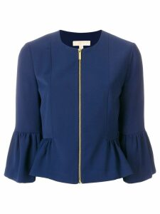 Michael Michael Kors flared cuff jacket - Blue