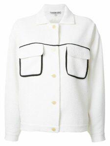 Edeline Lee Gabo pocketed jacket - White