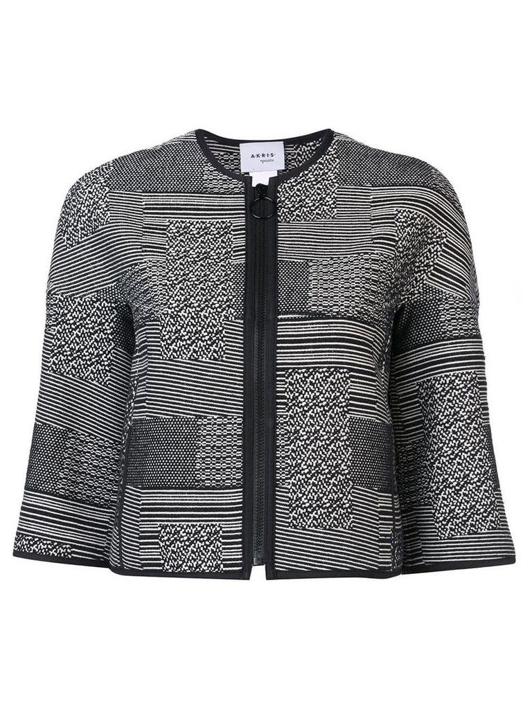 Akris Punto cropped jacket - Black
