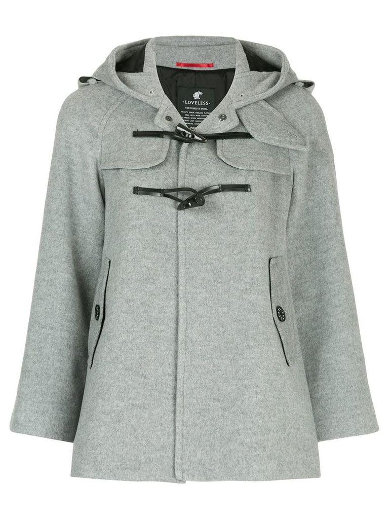 Loveless short duffle jacket - Grey