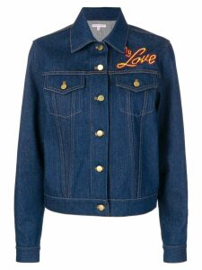 Olympia Le-Tan I Do My Own Thing jacket - Blue