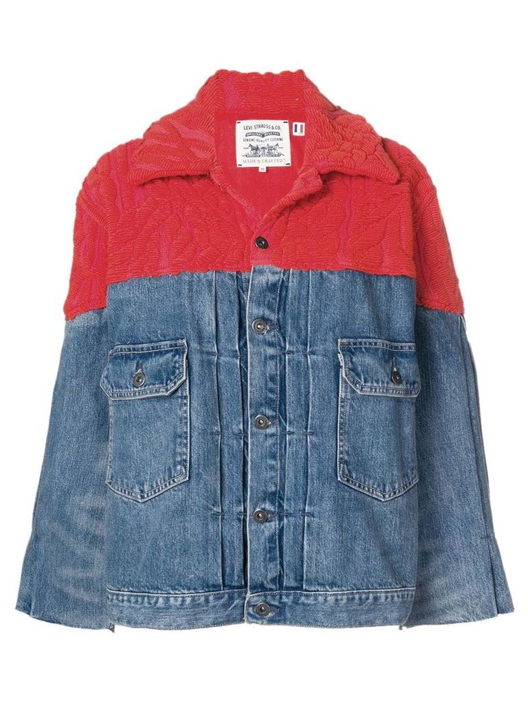 Levi's: Made & Crafted Native trucker jacket - Blue