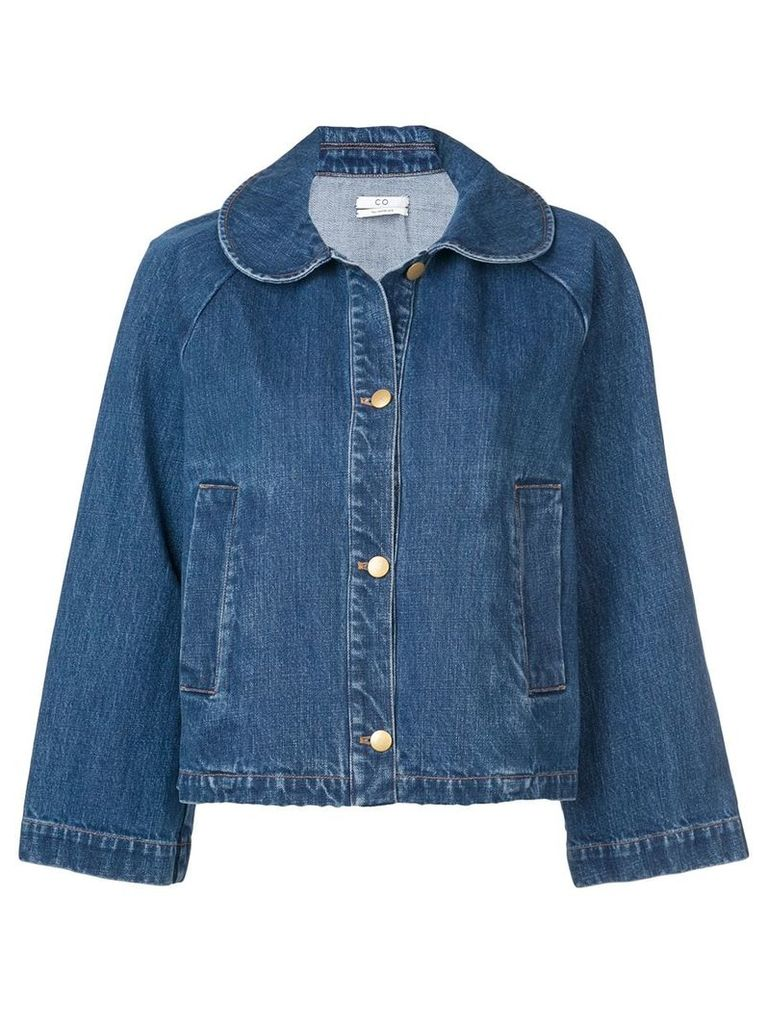 Co Peter Pan collared jacket - Blue