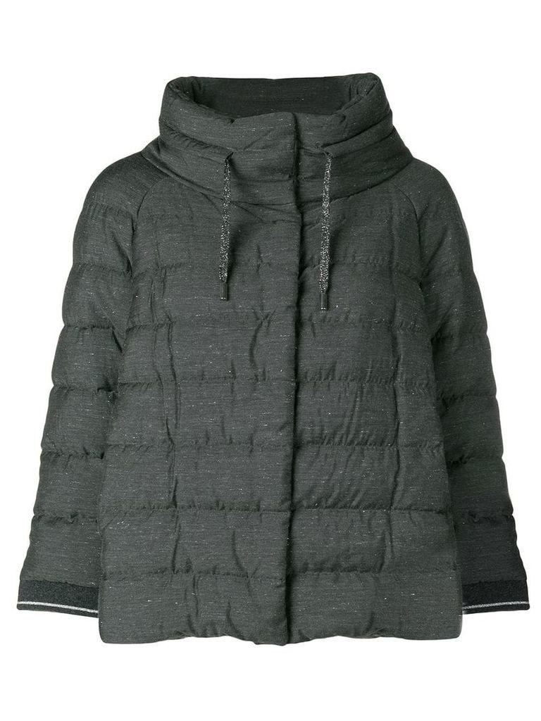 Herno short padded jacket - Grey