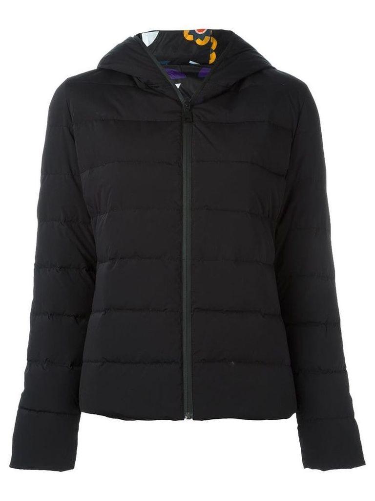 Fendi reversible Bag Bugs puffer jacket - Black
