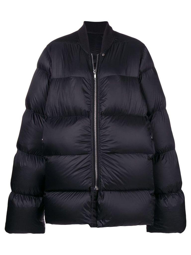 Rick Owens oversized puffer jacket - Black