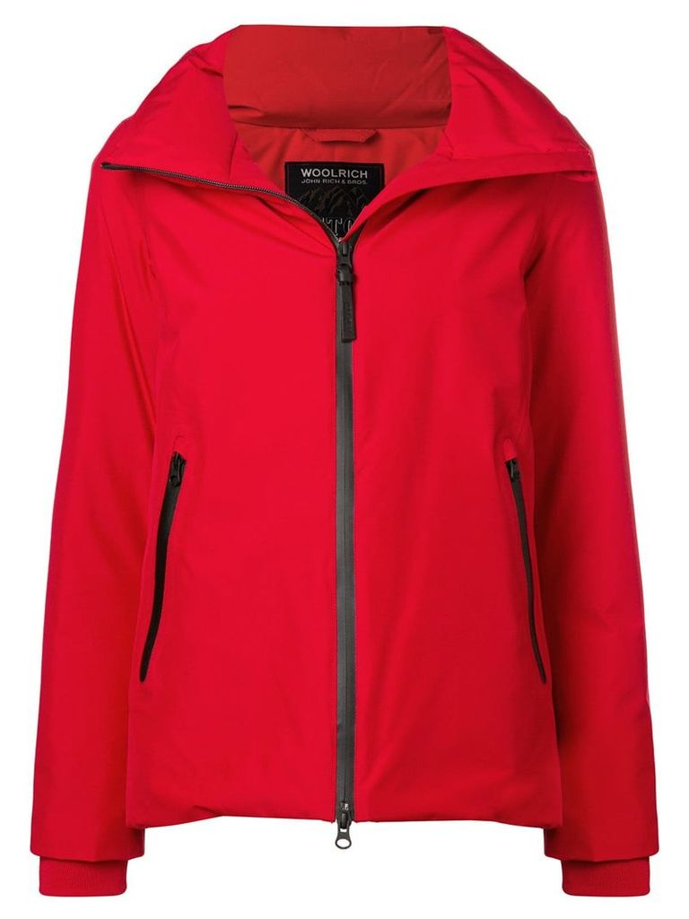 Woolrich zipped padded jacket - Red