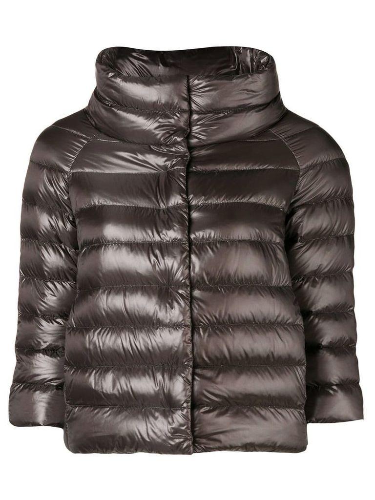 Herno Sofia puffer jacket - Grey