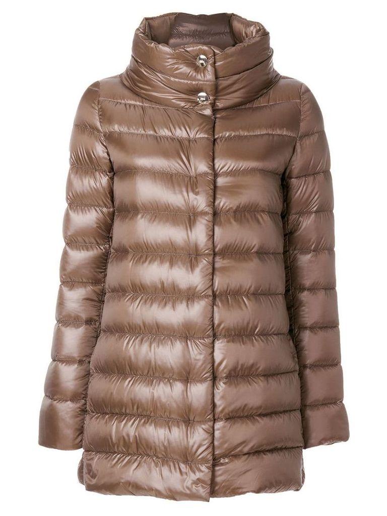 Herno puffer jacket - Brown