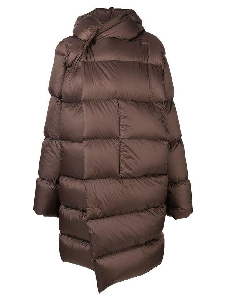 Rick Owens oversized puffer jacket - Brown
