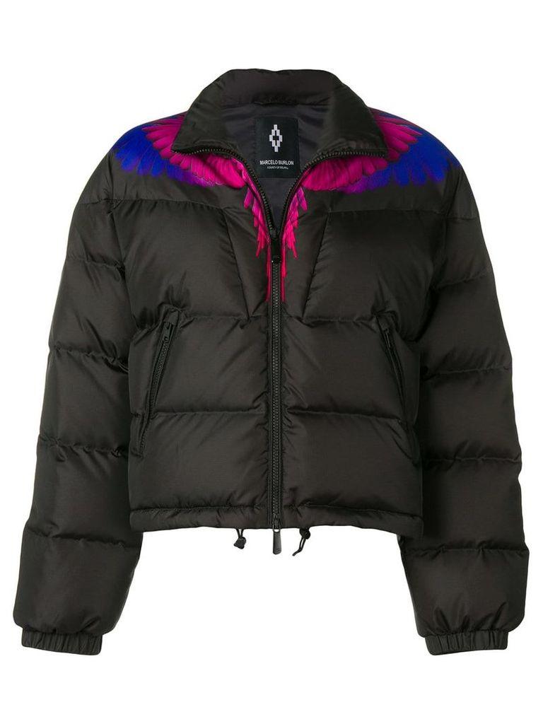 Marcelo Burlon County Of Milan puffer jacket - Black