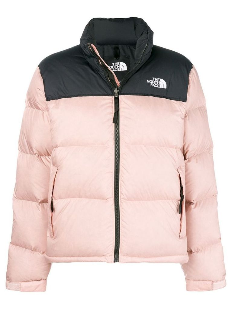 The North Face cropped padded jacket - Pink & Purple