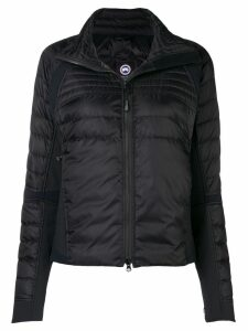 Canada Goose hooded fitted jacket - Black