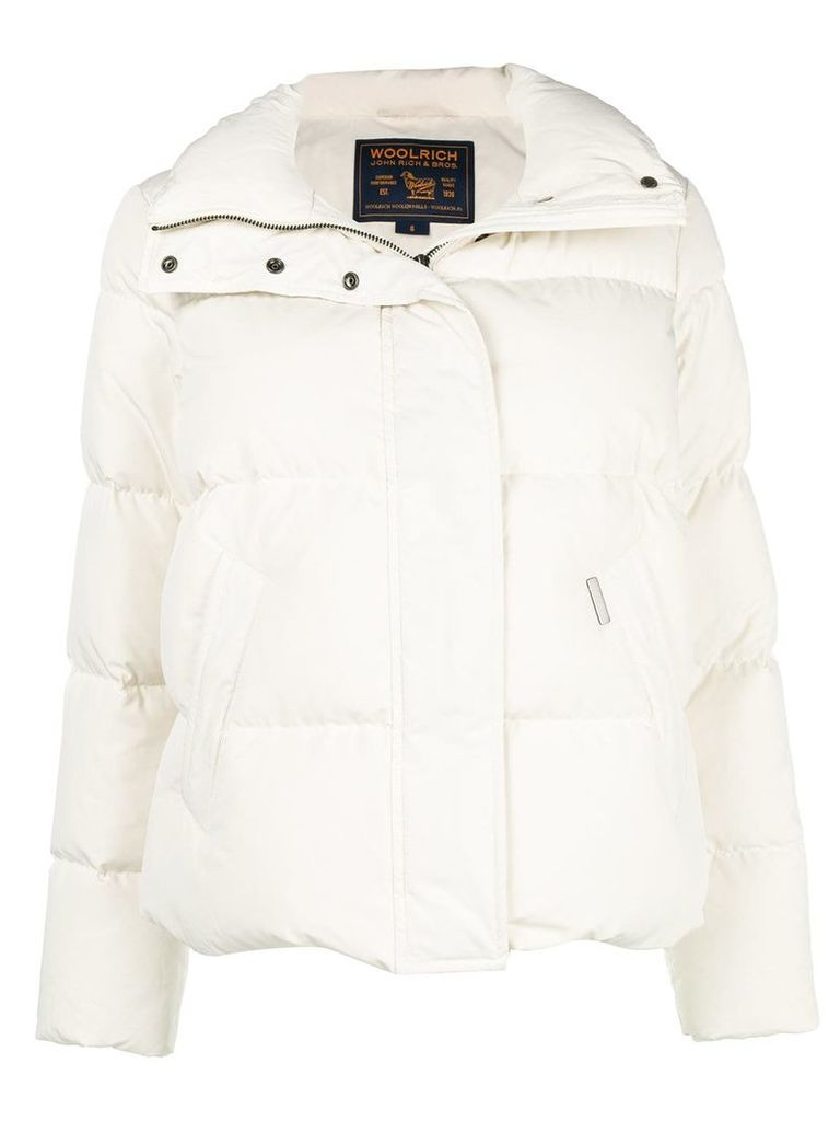 Woolrich classic padded jacket - White