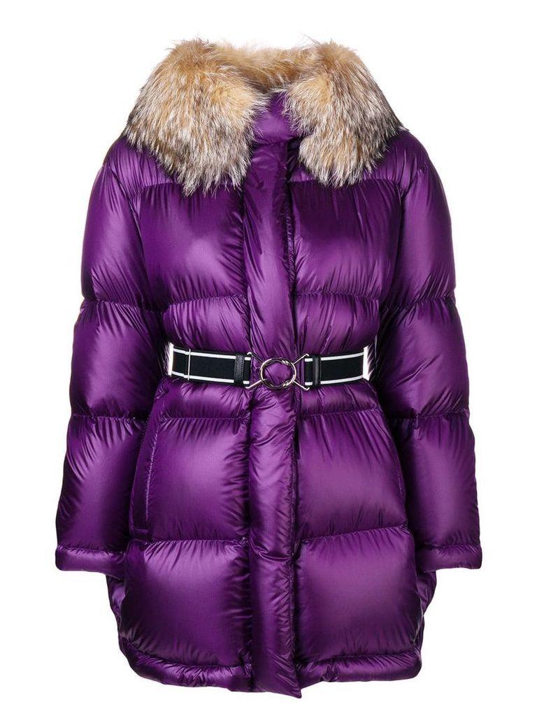 Prada puffer jacket - Purple