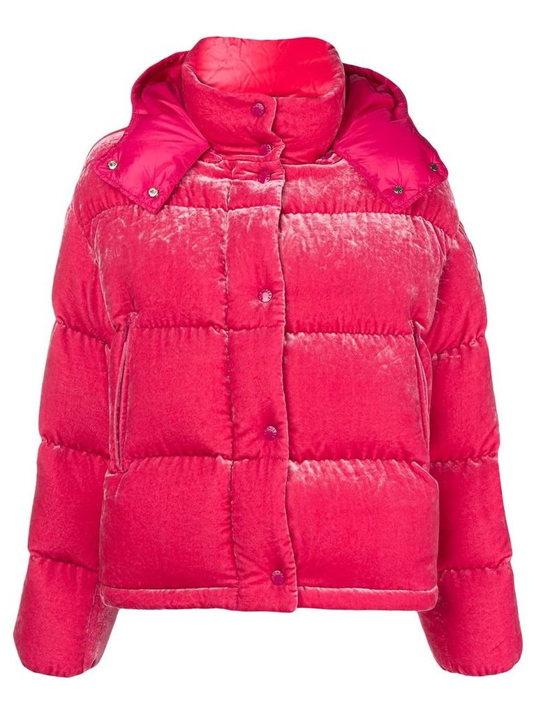 Moncler Caille padded jacket - Pink & Purple