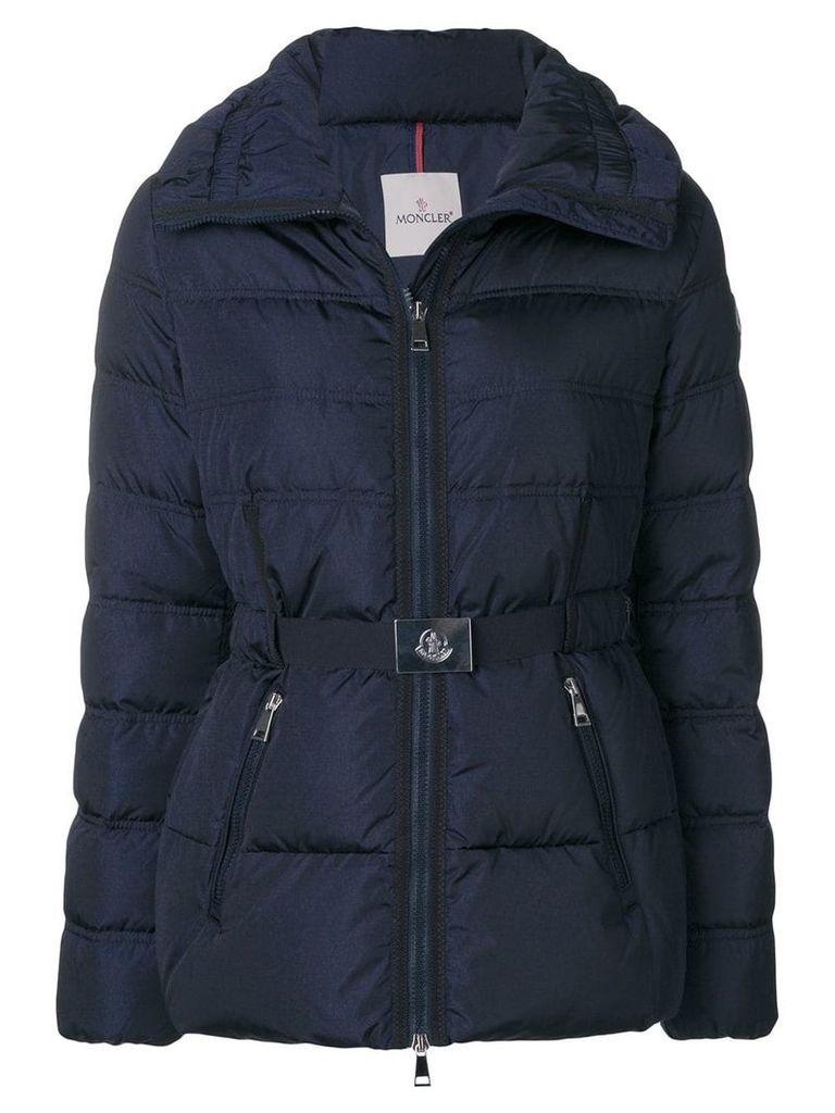 Moncler zipped padded jacket - Blue