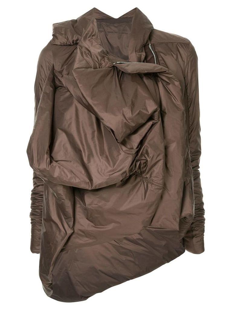 Rick Owens Guimard jacket - Brown