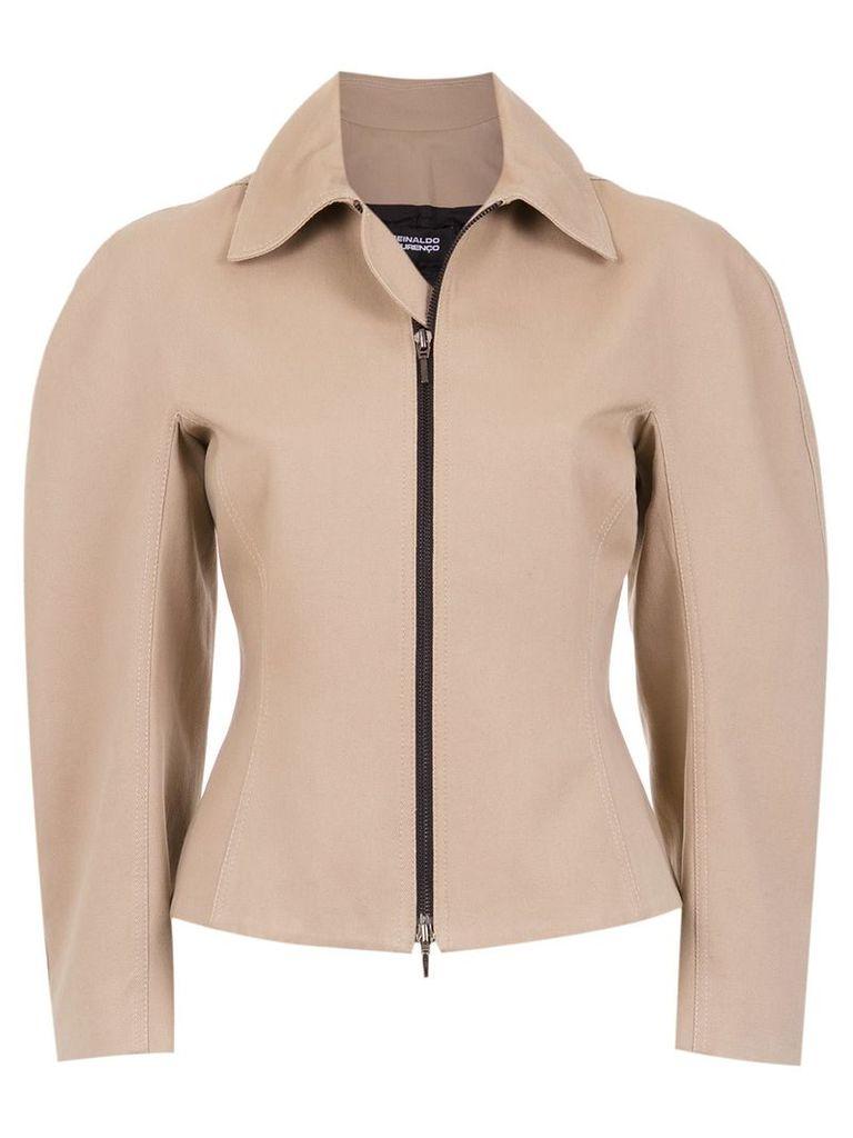 Reinaldo Lourenço wide sleeved jacket - Nude & Neutrals