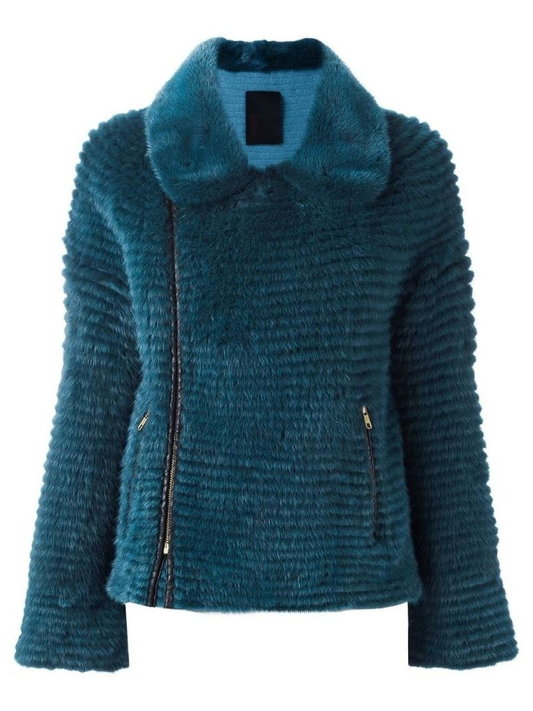 Liska biker jacket - Blue