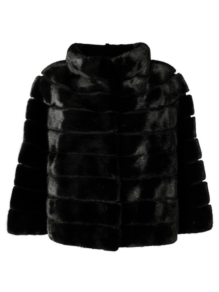 Yves Salomon cropped jacket - Black