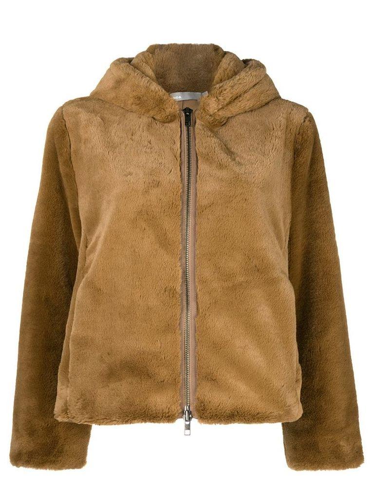 Vince faux fur jacket - Brown