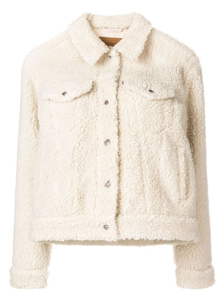 Levi's faux shearling jacket - Nude & Neutrals