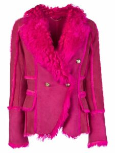 Desa 1972 double breasted jacket - PINK