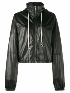 Rick Owens cropped windbreaker - Black