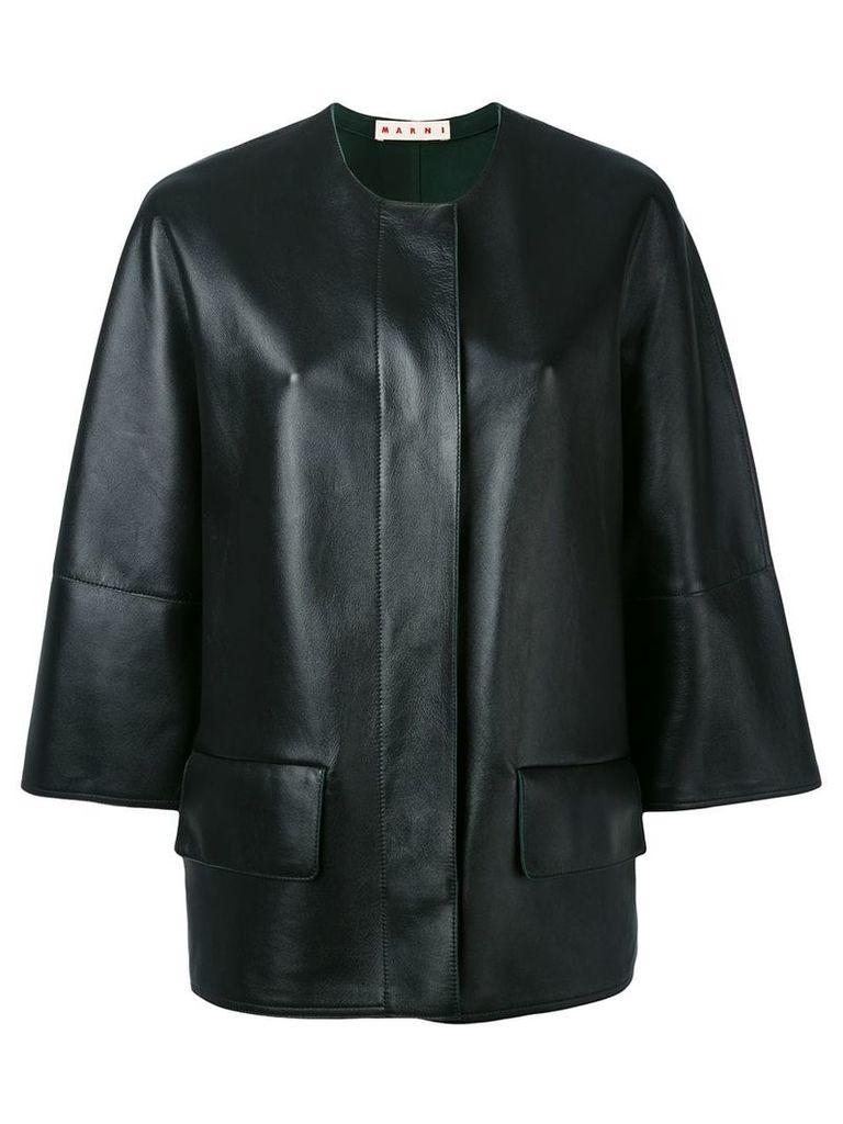 Marni biker jacket - Black