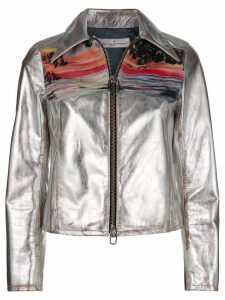 Golden Goose Mira sunset print jacket - Grey