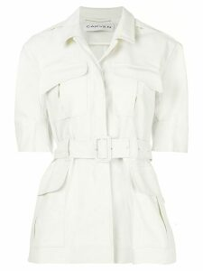 Carven short sleeved jacket - White