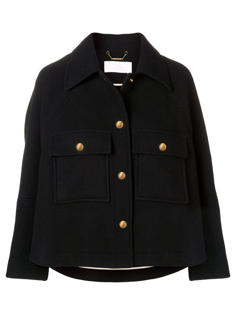 Chloé cropped jacket - Black