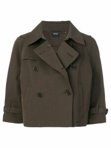 Aspesi double breasted jacket - Brown