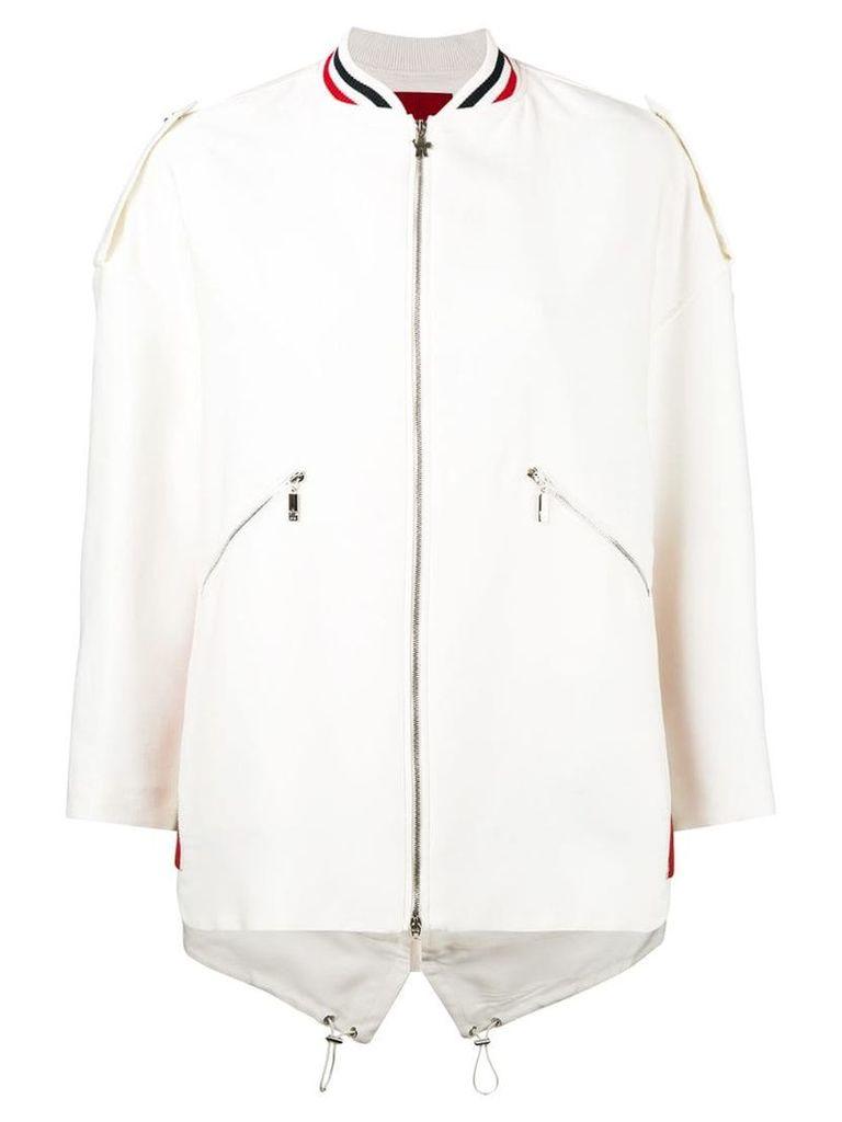 Moncler 'Piene B' jacket - Nude & Neutrals