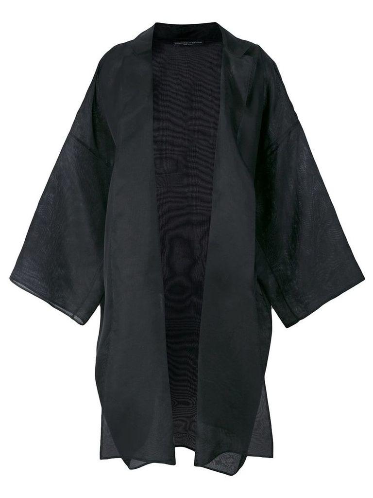 Ermanno Scervino oversized kimono jacket - Black