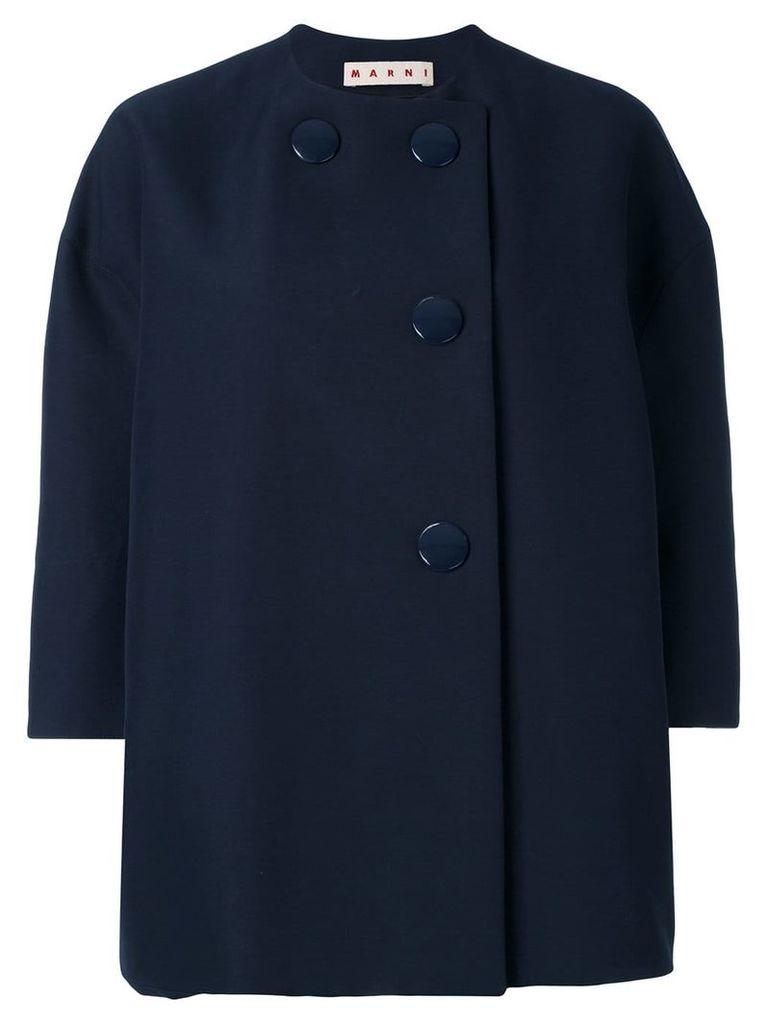 Marni three quarter sleeve jacket - Blue