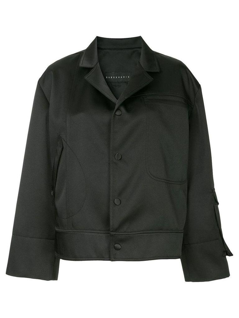 Nino Babukhadia oversized jacket - Black