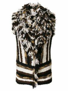 Lanvin striped knitted vest - Multicolour