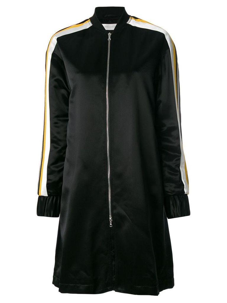 Victoria Victoria Beckham oversized bomber jacket - Black