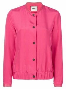 Max & Moi button bomber jacket - PINK