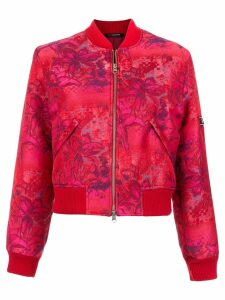 À La Garçonne brocade bomber jacket - PINK