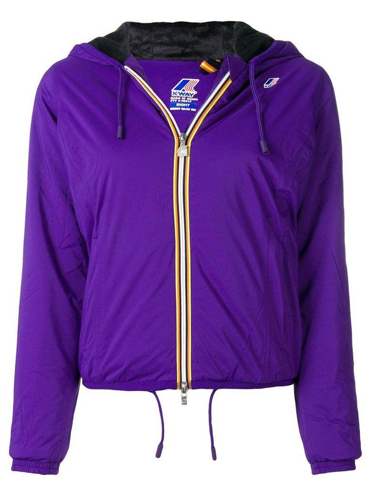 K-Way Lily micro ripstop jacket - Purple