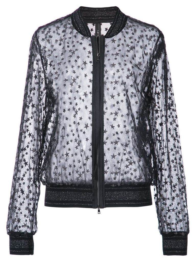 Marc Cain embroidered star jacket - Black
