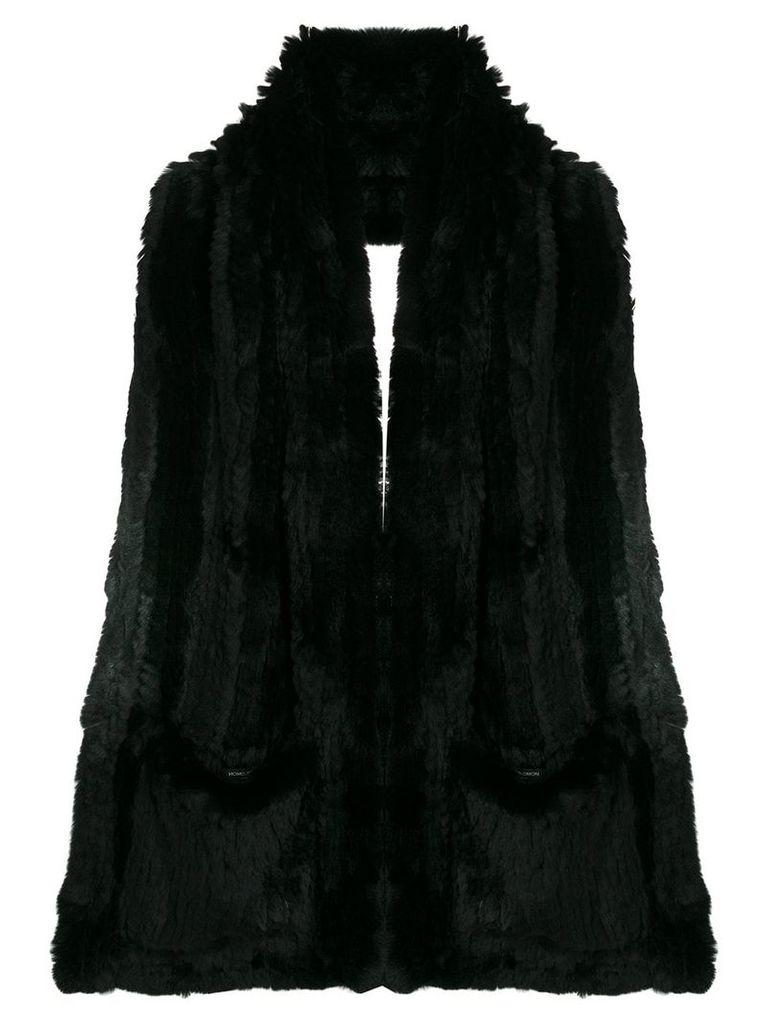 Yves Salomon backless gilet - Black