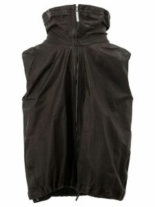 Isaac Sellam Experience zipped vest jacket - Black