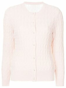 Onefifteen cable knit cardigan - PINK