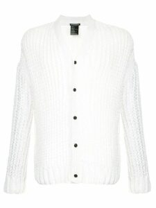 Ann Demeulemeester open-knit cardigan - White