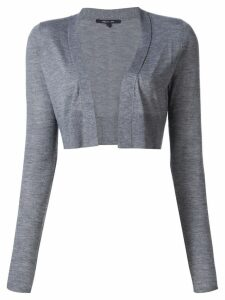 Derek Lam Noemi Long Sleeve Cardigan - Grey